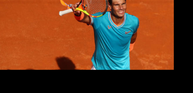 Rafa Nadal celebra su pase a semis. Foto: Getty