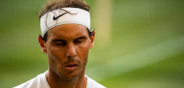 El español se va muy satisfecho de Wimbledon a pesar de ceder de nuevo en semis. Foto: Getty