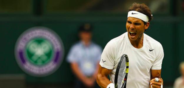 Rafa Nadal y su historia con Wimbledon. Fuente: Getty