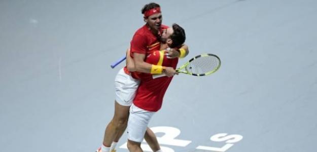 Nadal catapulta a España hasta semifinales. Foto: Getty