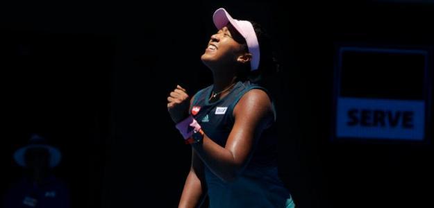 Naomi Osaka, finalista del Open de Australia 2019. Foto: zimbio