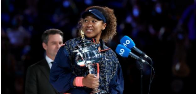 Naomi Osaka, homenaje campeona Open de Australia 2021. Foto: gettyimages