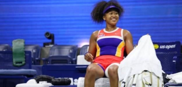 Naomi Osaka en US Open. Foto: Getty Images