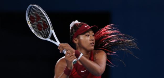 Naomi Osaka pierde con Vondrousova en Juegos Olímpicos Tokio 2021. Foto: gettyimages