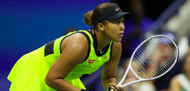 Naomi Osaka en el US Open. Fuente: Getty