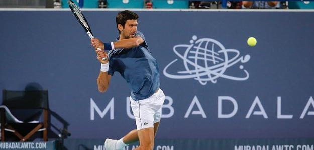 Novak Djokovic. Foto: Mubadala