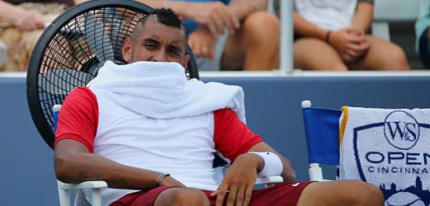 La ATP se cansa de Kyrgios: Le enfrenta a una expulsión de 4 meses. Foto: Getty