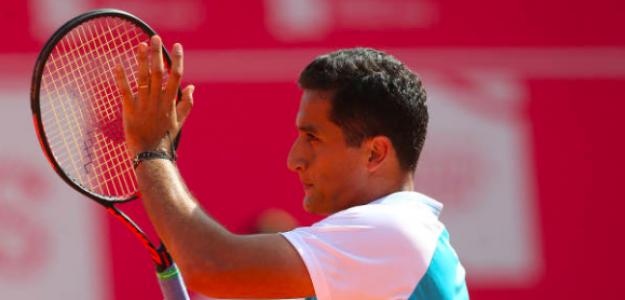 Nico Almagro durante un torneo de Estoril. Fuente: Getty