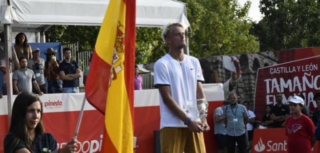 Nicola Kuhn, campeón en El Espinar. Fuente: Facebook Open Castilla y León