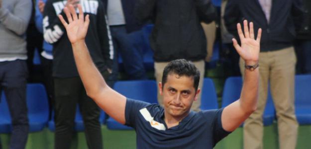Nicolás Almagro en Challenger Murcia. Foto: zimbio