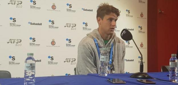 Nicolás Jarry en ATP 500 Conde de Godó 2019. Foto: zimbio