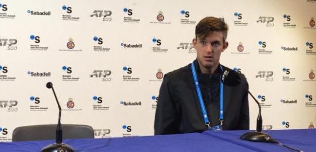 Nico Jarry en rueda de prensa. Foto: Fernando Murciego