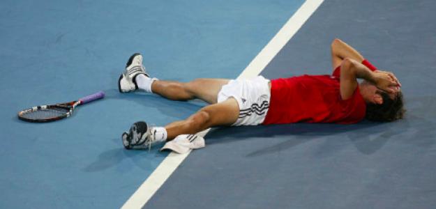 Nicolas Massú, campeón en Atenas. Fuente: Getty