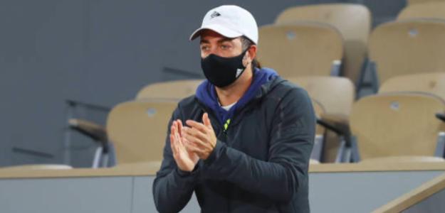 Nicolás Massú en Roland Garros. Fuente: Getty