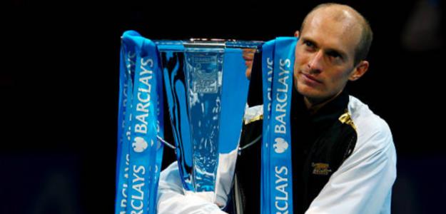 Nikolay Davydenko y el título más importante de su carrera. Fuente: Getty