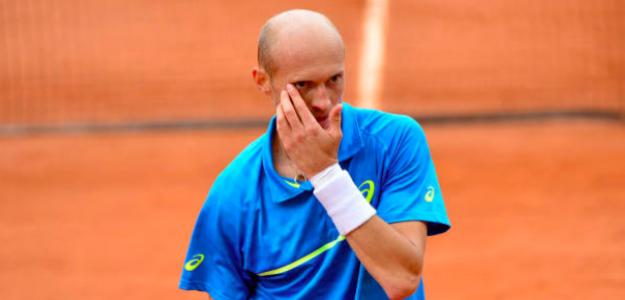 Nikolay Davydenko en su último torneo profesional. Fuente: Getty