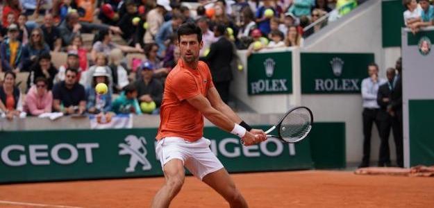 Novak Djokovic. Foto: Roland Garros