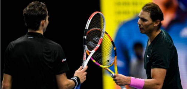 Nadal y Thiem, candidatos al Premio a la Deportividad. Fuente: Getty