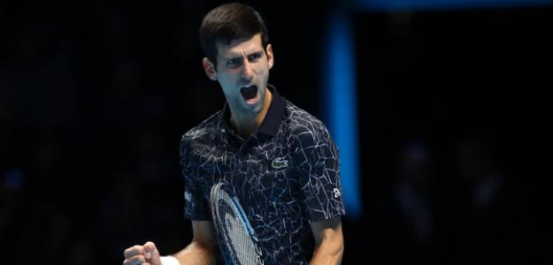 Novak Djokovic en 2018. Foto: zimbio