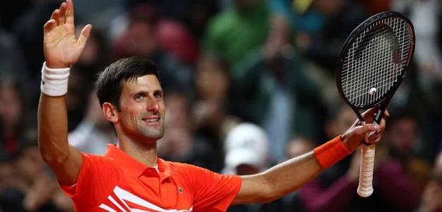 Novak Djokovic gana a Juan Martín Del Potro. Foto: zimbio
