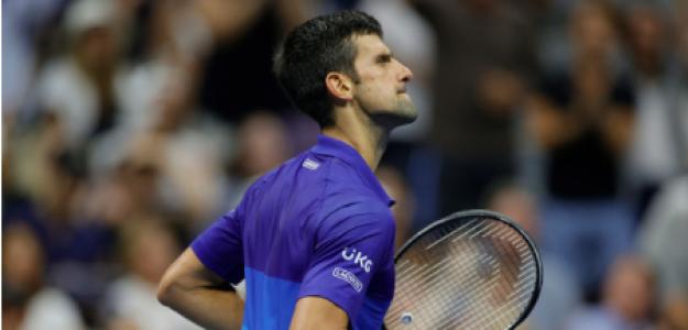 Novak Djokovic, análisis cuartos final US Open 2021. Foto: gettyimages