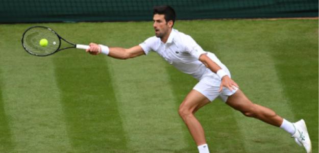 Novak Djokovic gana a Kevin Anderson en Wimbledon 2021. Foto: gettyimages