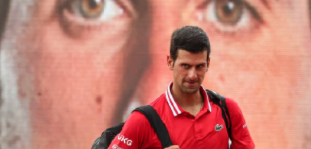Djokovic se metió en cuartos de final de Belgrado. Foto: Getty