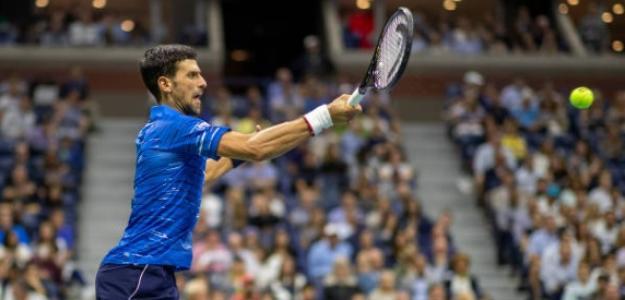 Djokovic vio la luz de salida, pero logró salir adelante para continuar con vida en el torneo. Foto: Getty