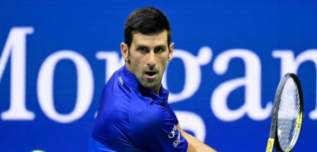 Djokovic debutó con un triunfo en el US Open. Foto: US Open