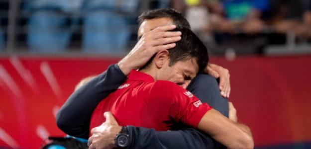 Novak Djokovic, ganador ATP Cup 2020. Foto: gettyimages
