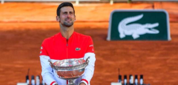 Djokovic quiere ser el máximo ganador de Slams de la historia. Foto: Getty