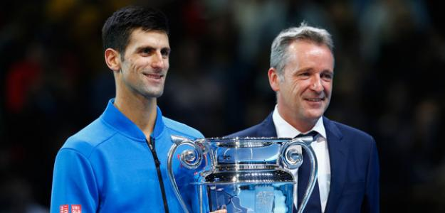 Novak Djokovic y Chris Kermode, polémica con Pospisil. Foto: zimbio