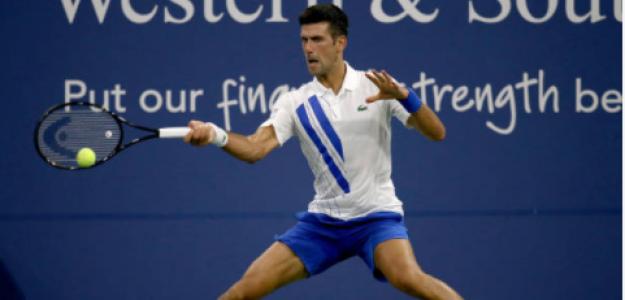 Novak Djokovic gana a Tennys Sandgren en Cincinnati 2020. Foto: gettyimages
