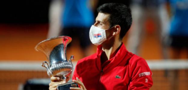 Novak Djokovic, conclusiones del torneo Roma 2020. Foto: gettyimages
