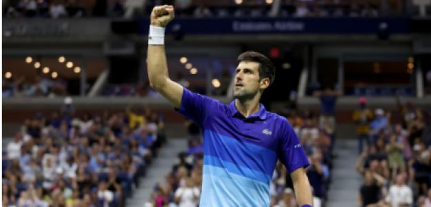 Novak Djokovic habla tras ganar a Brooskby en US Open 2021. Foto: gettyimages