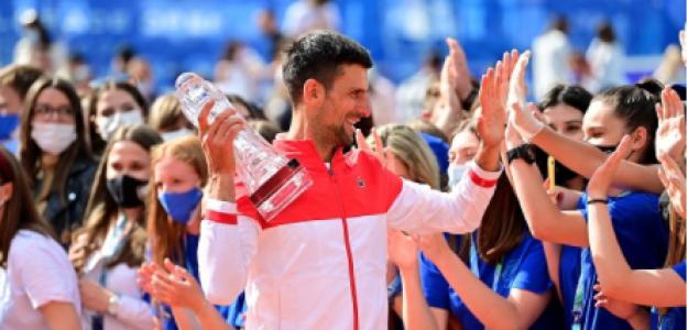 Novak Djokovic, declaraciones como campeón de Belgrado. Foto: gettyimages
