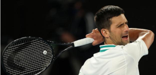 Novak Djokovic habla de su dolor en Open Australia 2021. Foto: gettyimages