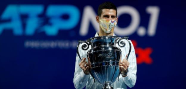 Novak Djokovic, líder histórico ranking ATP. Foto: gettyimages