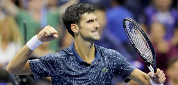 Novak Djokovic en US Open 2018. Foto: zimbio
