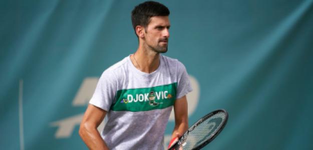 Novak Djokovic, baja en torneos de Grand Slam. Foto: gettyimages