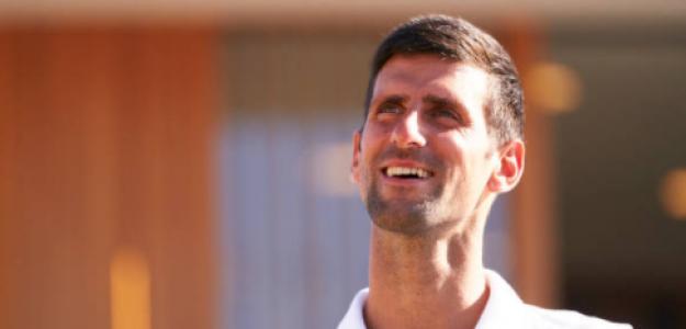 Djokovic intentará dar otro golpe en Wimbledon. Foto: Getty