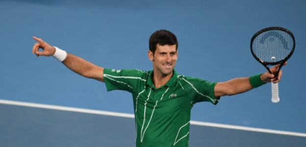 Novak Djokovic, homenaje como campeón de Open Australia 2020. Foto: gettyimages