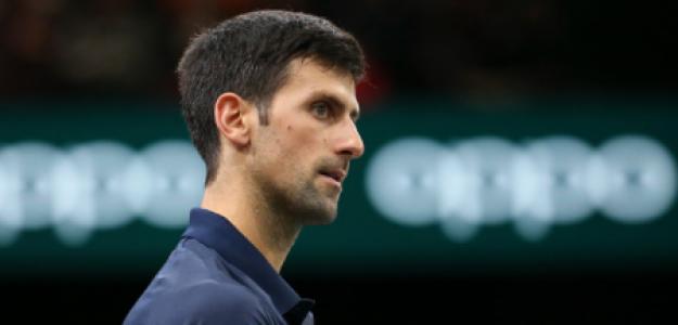 Novak Djokovic París-Bercy 2021. Foto: gettyimages