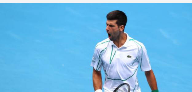 Novak Djokovic gana a Ito en Open de Australia 2020. Foto: gettyimages