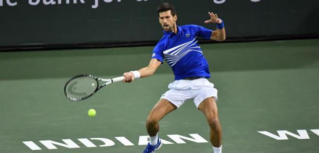 Novak Djokovic tras perder en Indian Wells 2019. Foto: zimbio