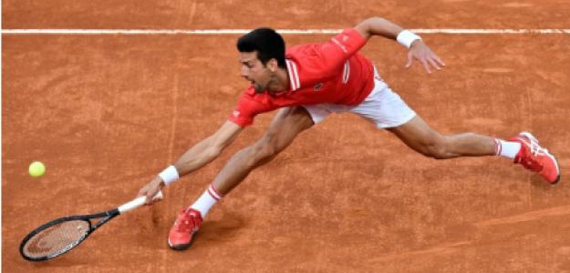 Novak Djokovic gana a Sonego en Masters 1000 Roma 2021. Foto: gettyimages