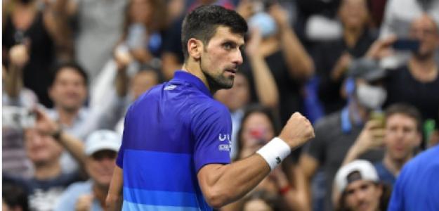 Novak Djokovic, confianza tras ganar a Berrettini en US Open 2021. Foto: gettyimages