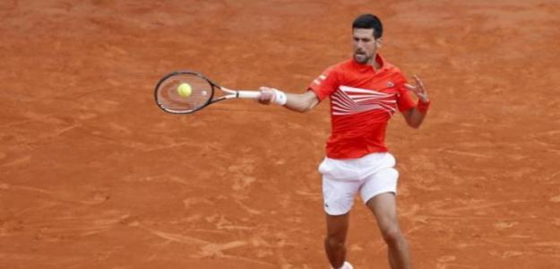 Novak Djokovic en Montecarlo 2019. Foto: zimbio