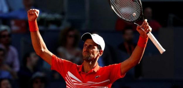 Novak Djokovic, campeón del Mutua Madrid Open 2019. Foto: zimbio