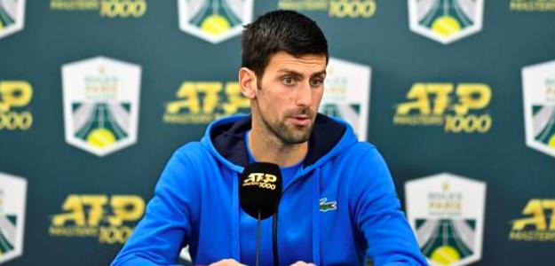 Novak Djokovic, a un paso del objetivo en París. Fuente: Getty